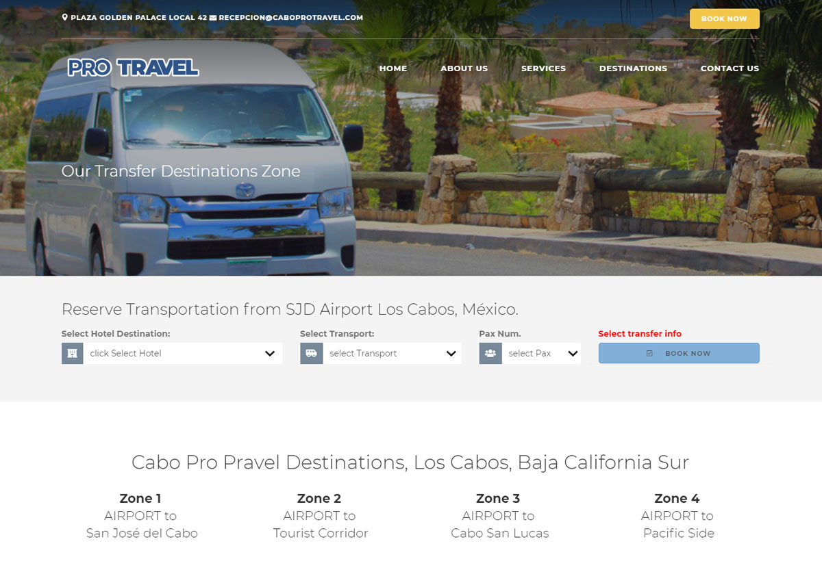 Jenson - Cabo Pro Travel Transportation in Los Cabos